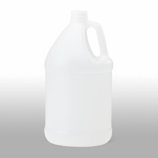 1 Gallon Natural HDPE Round Jug, 38mm