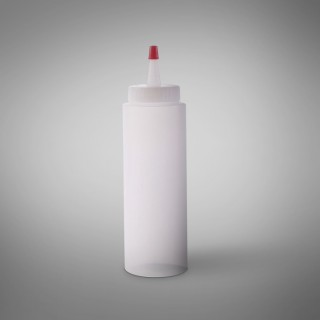 A75U: 8 oz Unprinted Applicator with Red Tip