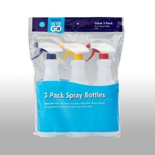 B7999: 32 oz Spray Bottle 3-Pack