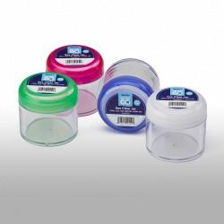 C452: 2 oz Clear Cream Jar