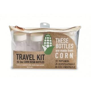 CRK-4: Compostable Corn Resin 4pc, 3 oz. Bottle Kit
