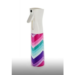 FCR-10: 10 oz. Chevron Rainbow Flairosol Sprayer