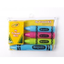 CTK-557: Crayola 6pc. Travel Kit (TM)