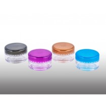 C460: Clear 10mL Pill Container