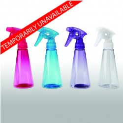 SL-8: 8 oz. Tinted Clear Streamline Sprayer